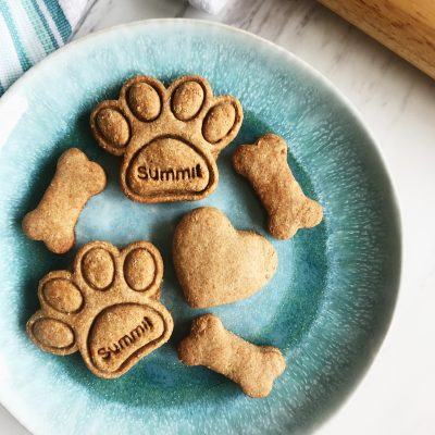 Organic Peanut Butter & Banana Dog Treats