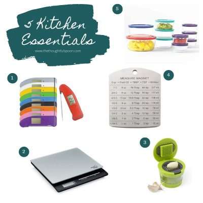 5 Kitchen Essentials