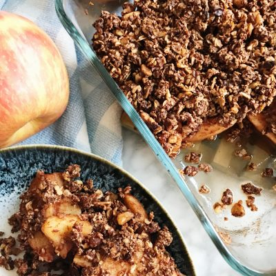 Refined Sugar Free Apple Crisp