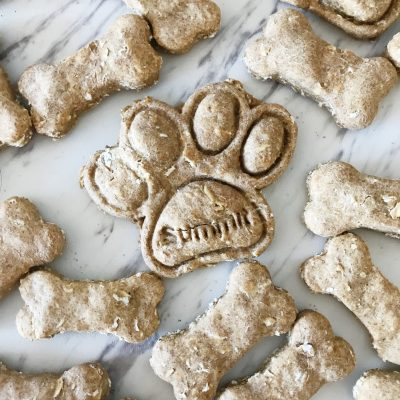 Peanut Butter Oatmeal Dog Treats